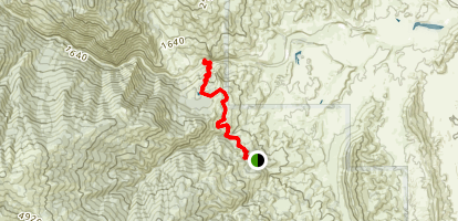 Thomes Gorge Trail Map
