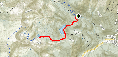 Hunt Lake Trail  Map