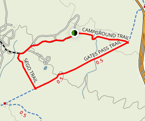 Gilbert Ray Campground Trail Map
