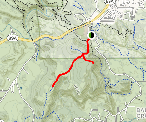 Schuerman Mountain Trail Map