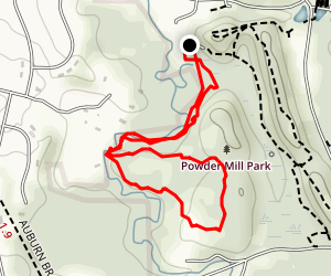 Powder Mills Creek Trail Map