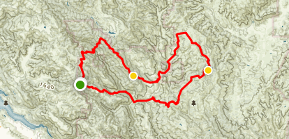 Bear Springs Loop Map