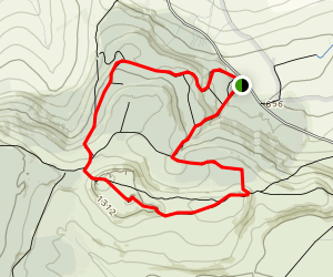 Simonside: Red Route Map