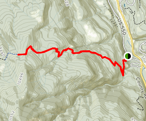 Dallas Trail Ouray Section Map