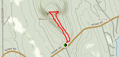 Mount Phillip Loop Trail Map
