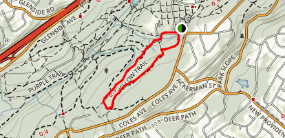 Yellow and Purple Trail Map