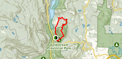 Mount Finlayson Extended Loop Map