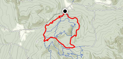 Hinesburg Town Forest Map