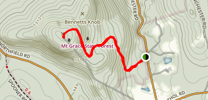 Mount Grace Map