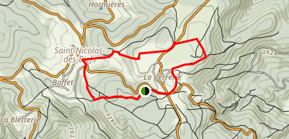 Montagne Bourbonnaise n°6 Map