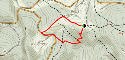 Montagne Bourbonnaise n°3 Map