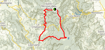 Montagne Bourbonnaise n°26 Map