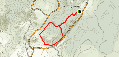 3M Squared Loop (Monkey Trail) Map