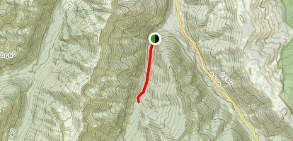 Conundrum Creek Day Hike Map
