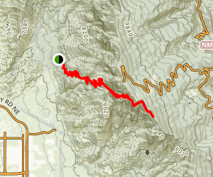 La Luz Trail Map