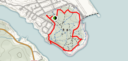 Point Pleasant Park Trail Map