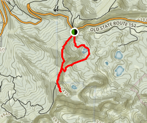 Great Western Trail: Guardsman Pass to Clayton Peak Map