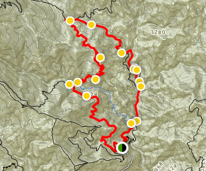 Mount Zion Loop - Sturtevant to Winter Creek Trails Map