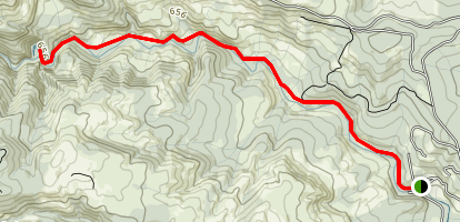 Haines, Lee Falls and Little Lee Falls Map