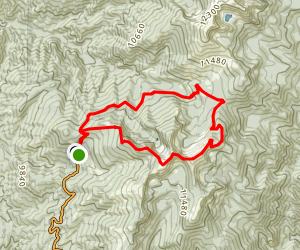 Raven's Ridge - Windsor Loop Map