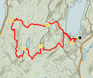 Sterling Forest Bare Rock Trail Map