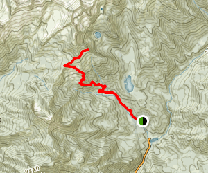 Silver Lake Overlook Map