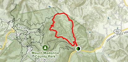 Merry Go Round Trail Map