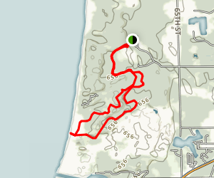 Saugatuck Dunes South Trail Map
