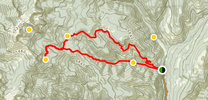 Windsor Spirit and Stewart Lake Loop Map