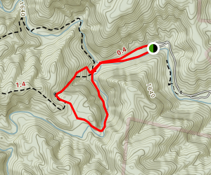High Shoals Falls Loop Map