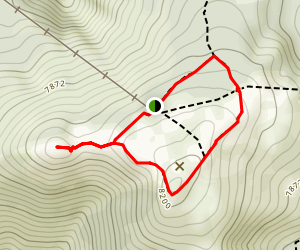 Wallowa Tramway Summit Trails Map