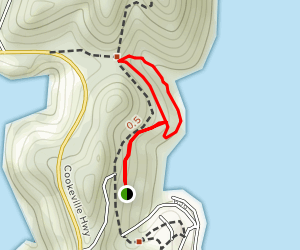 Upper and Lower Lake Trail Loop Map