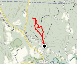 Townsend Quarries Loop Map