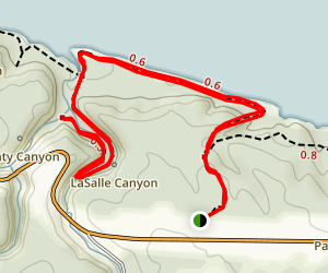 La Salle Canyon Map