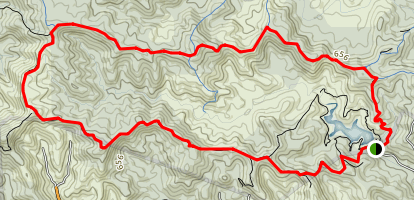 Pinnacles Loop Map