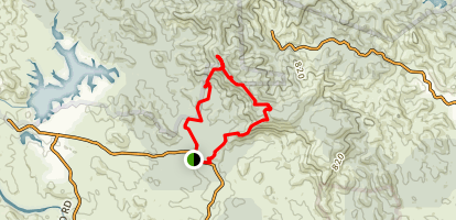 Mermaid Mountain Walk Map