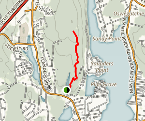 Oswegathie Hills Blue Trail Map