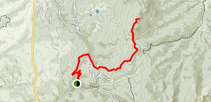 Raspberry Mountain [PRIVATE PROPERTY] Map