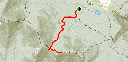Indian Head Summit and Jimmy Dolan Notch Overlook Trail Map