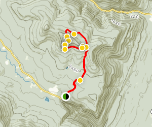 Kaaterskill High Peak Loop Trail Map