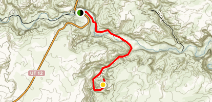 Phipps Arch Trail Map