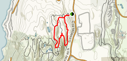 Coyote Ridge Map