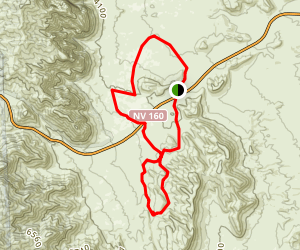Badger Pass, Dead Horse, and Late Night Loop Map
