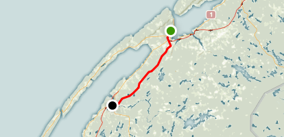 Missing Link Trail Map