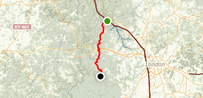 Sheltowee Trace: Section 24  Map