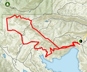Badger Pass and Oak Savannah Loop Trail Map