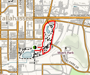 Cascades Park Loop Map