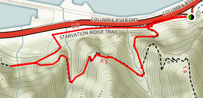 Lower Starvation Loop (CLOSED) Map