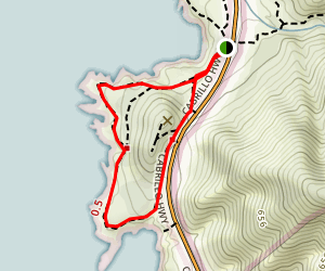 Cabrillo Highway Loop Trail [CLOSED] Map
