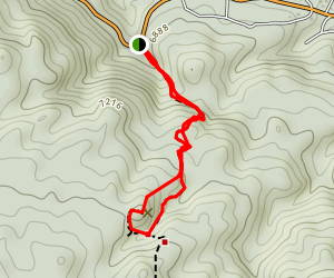 Castle Rock Peak Map